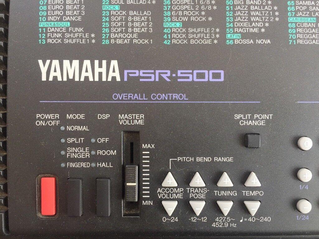 Yamaha PSR-500