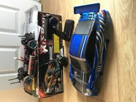 Hsp 4wd flying fish DRIFT CAR