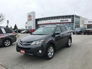 2015 Toyota RAV4 Limited w/ Navigation, Backup Camera, Moonroof