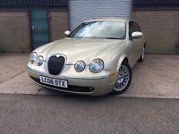 2006 06 JAGUAR S-TYPE 3.0 V6 AUTO SE CLEAN CAR INSIDE AND OUT FSH WELL MAINTAINTED