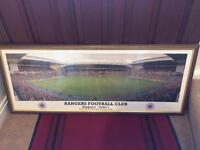 Rangers Football Framed Picture
