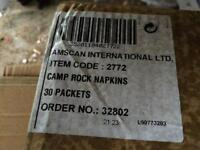 Joblot of napkins
