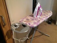 Russell hobbs iron machine and ironing board