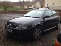 Audi S3 spares repairs has mot etc
