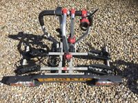 Witter ZX200 CYCLE CARRIER FOR TWO BIKES INC LIGHTING BOARD FITS TO TOWBAR IN A COUPLE OF MINUTES