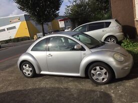 Silver VW beetle for sale **£950**