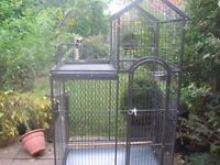 Large parrot cage. Very sturdy. £65.00