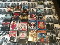 21 dvds inc 3 bluray bolt man of steel and green street