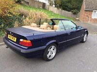 bmw 320i auto convertuble classic car and insurance mot 7 manths central