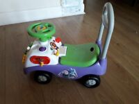 Ride drive on car £5