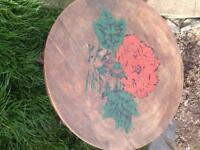 Small table hand painted