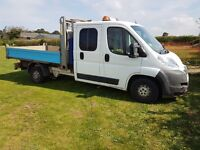 CITREON RELAY CREW CAB TIPPRER - 2.2 DIESEL - 7 SEATS - 65000 MILES WITH FSH - 2 OWNERS