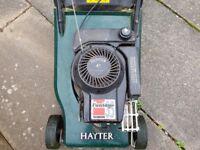 Haytor Petrol mower. Perfect nick.