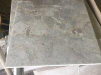 18 number 340 x 340 Biege / grey type floor tiles