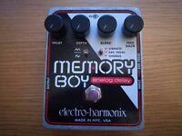 Electro Harmonix Memory Boy Delay Chorus & Vibrato Pedal