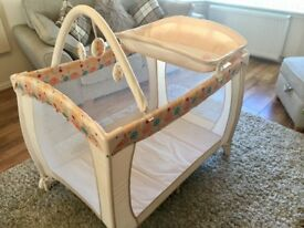 Babystart travel cot