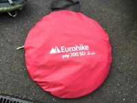 Eurohike tent pop up