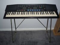 Yamaha PSR 47 Retro Keyboard with Stand and Mains Adaptor