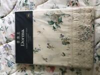 Dorma V&A Guinevere Bedspread and brand new, still in packaging flat sheet.