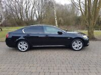 Lexus GS450H Rare black Spares or Repairs. Can sell Parts or Whole Car!