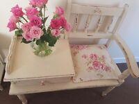 Gorgeous upcycled furniture set.
