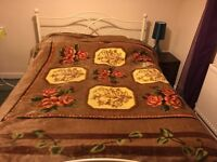 Beautiful double bed!