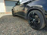 "Bmw swap x5 x6 22"" alloy wheels restored"