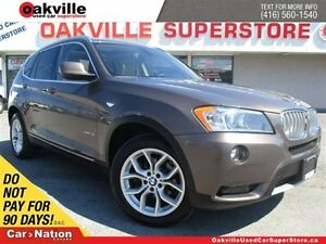 2012 BMW X3 xDrive28i | CLEAN CARPROOF | PANORAMIC SUNROOF | L