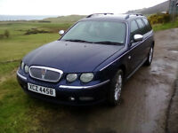 Rover 75 / only 63.ooo miles / MOT: Dec 2017 / no advisories