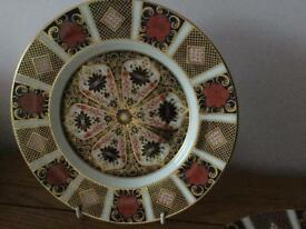 Royal crown derby Imari plate