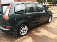 LOW MILEAGE FORD C MAX 2004 FULL YER MOT GOOD CONDITION