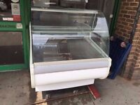 COMMERCIAL 1 METRE LONG COLD FOOD DISPLAY FRIDGE USED IN CATERING RESTAURANT CAFE KEBAB KITCHENRY