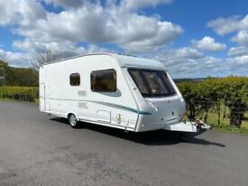 Abbey 6Berth fixed Bunks service records end garage all accessories