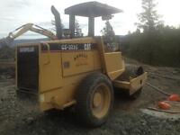 2006 Catipillar CS323C smooth drum Vibe Packer