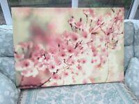 Lovely Large Flower Canvas Print 100CM