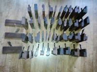 48 x Antique / Vintage Carpenters / Joiners Moulding Planes old tools