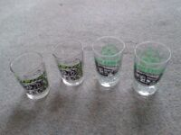 Vintage Shot Glasses.