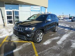 2015 Jeep Grand Cherokee Limited - V6  4x4  Sunroof  Heated Seat