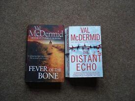2 Val McDermid paperbacks.