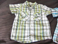 2 x 18-24 Month Check Shirts Both For 50p