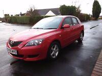 Mazda 3 red good condition 1.4 mot til nov 23rd