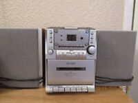 Technika micro system with cd and cassette player
