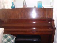 Bentley piano and stool