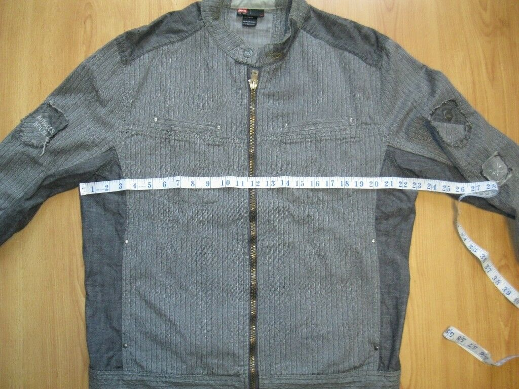 1e48203d3 Diesel light weight jacket unusual design vgc