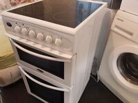 Belling freestanding double oven cooker.Fully working. CLEAN. Ovens were not used at all!!Delivery
