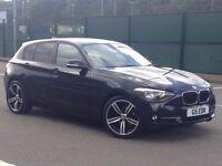 2012 (JUL 12) BMW 116D SPORT - 5 Dr Hatchback - DIESEL - Manual - BLACK *LONG MOT/CHERISHED PLATE*