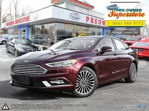 2017 Ford Fusion SE--AWD, NAV, leather, sunroof!!!