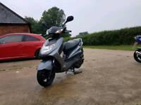 Yamaha cygnus 125cc moped
