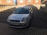 Ford Fiesta new shape 06reg in silver,5door,drive well px welcome