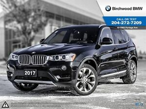 2017 BMW X3 xDrive28i Local One Owner! No Accidents!